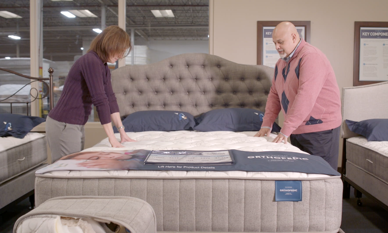 Couple Mattress Shopping