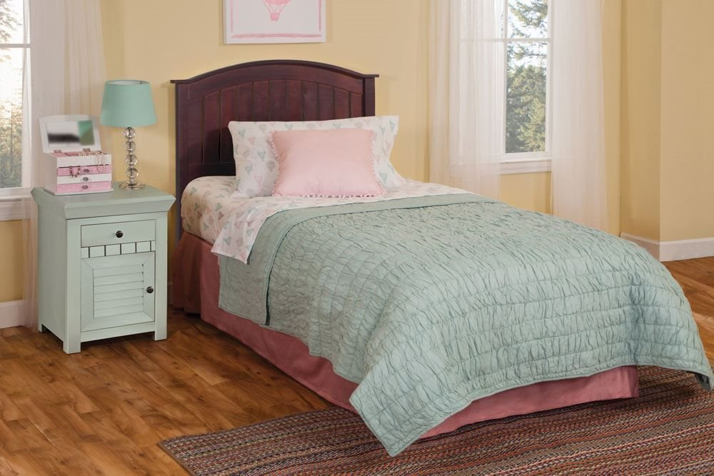 Finley Bed - Complete Bed Shown for Reference, Actual Product is Headboard Only