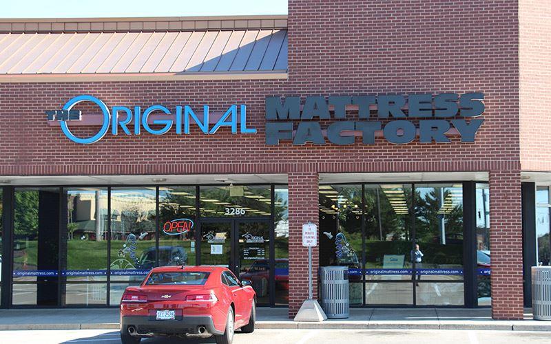 Beavercreek Ohio Mattress Store Original Mattress Factory