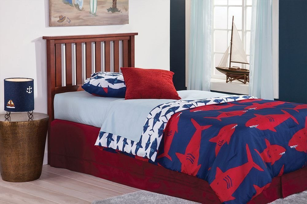 Belmont Bed - Complete Bed Shown for Reference, Actual Product is Headboard Only