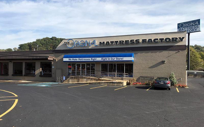 Pittsburgh Pennsylvania Mattress Factory Store Original Mattress