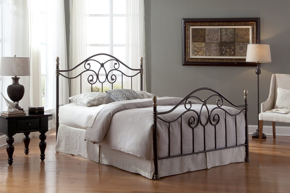 Dynasty Bed - Complete Bed Shown for Reference, Actual Product is Headboard Only