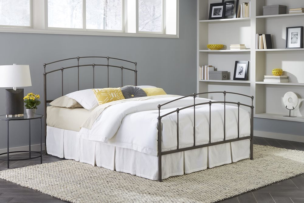 Fenton Bed - Complete Bed Shown for Reference, Actual Product is Headboard Only