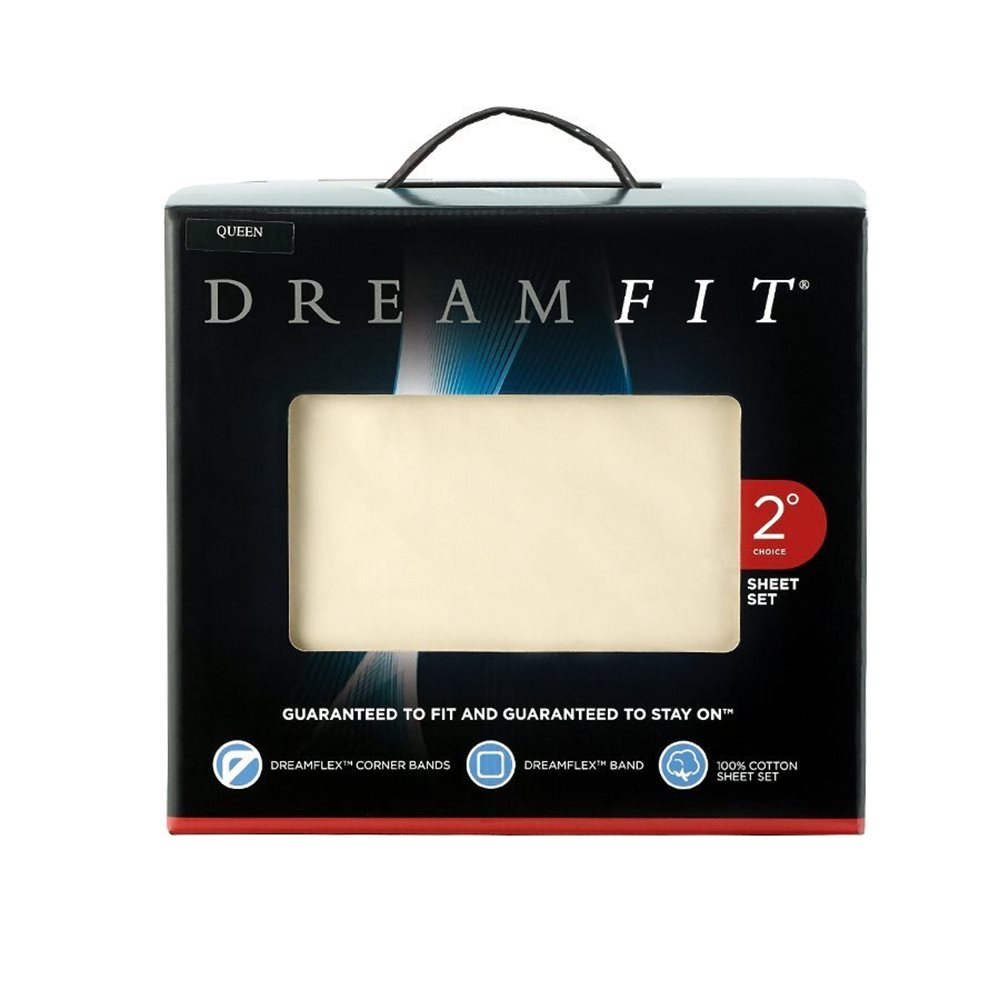 DreamFit Sheet Set - Ivory