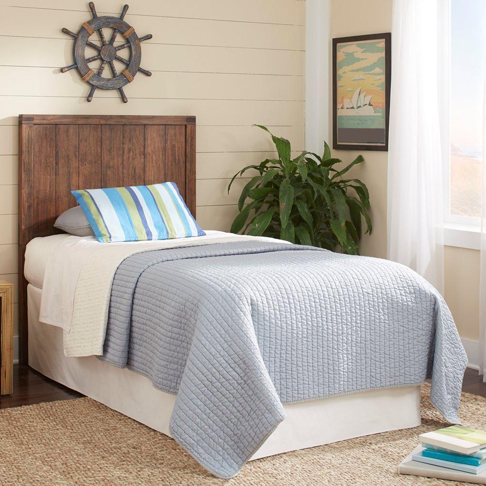 Porter Headboard on bed
