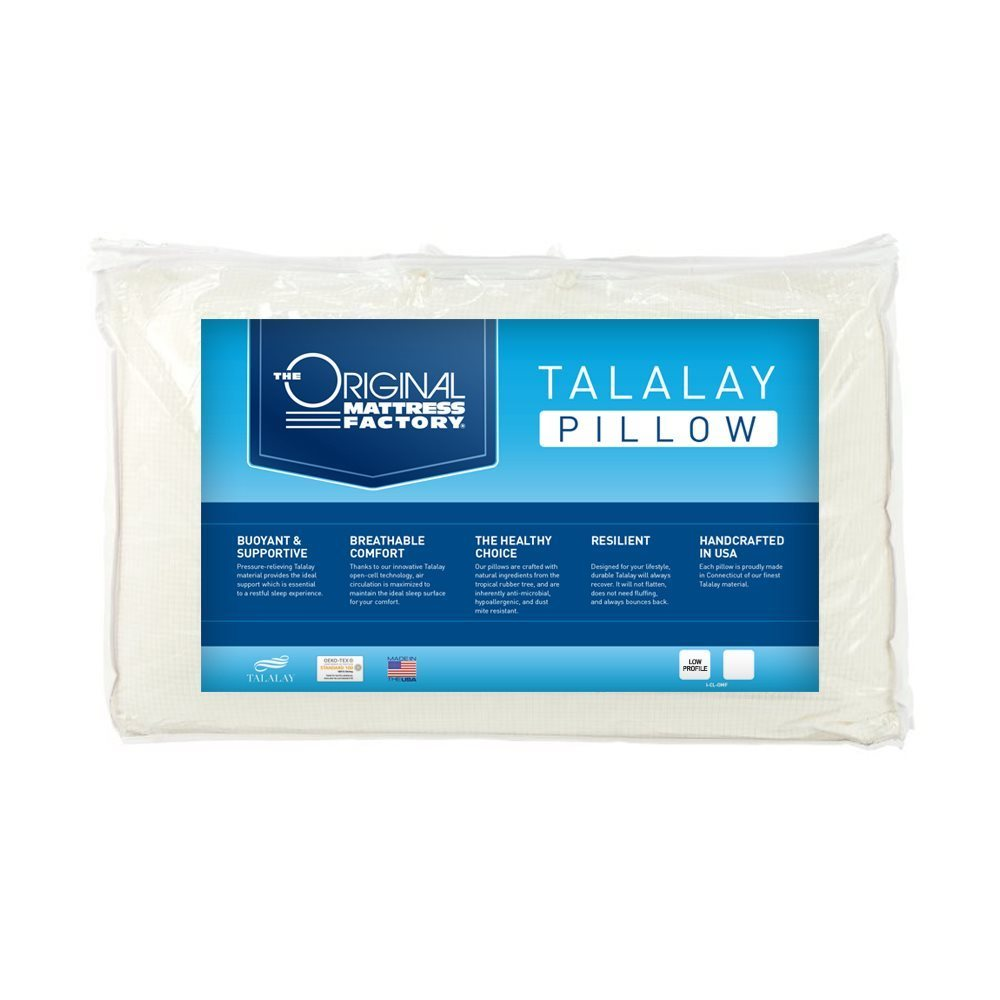 Talalay Low Profile Latex Pillow